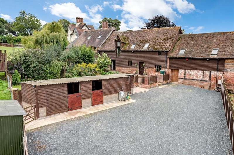 4 Bedrooms Barn Conversion Character Property for sale in Rowley Farm, Worfield, Bridgnorth, Shropshire