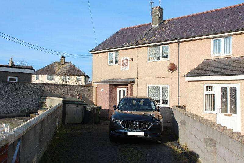 3 Bedrooms End Of Terrace House for sale in Maes Cyttir, Holyhead
