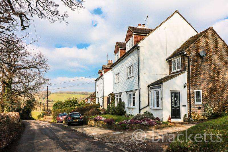 4 Bedrooms Semi Detached House for sale in Chafford Lane, Fordcombe, Tunbridge Wells