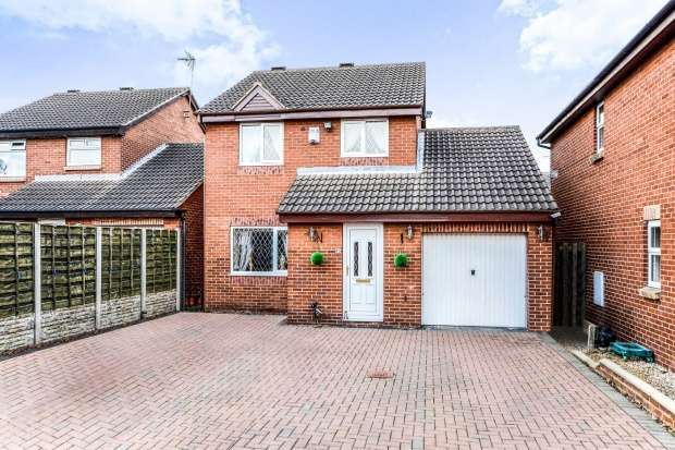 3 Bedrooms Detached House for sale in Newlaithes Crescent, Normanton, West Yorkshire, WF6 1SY