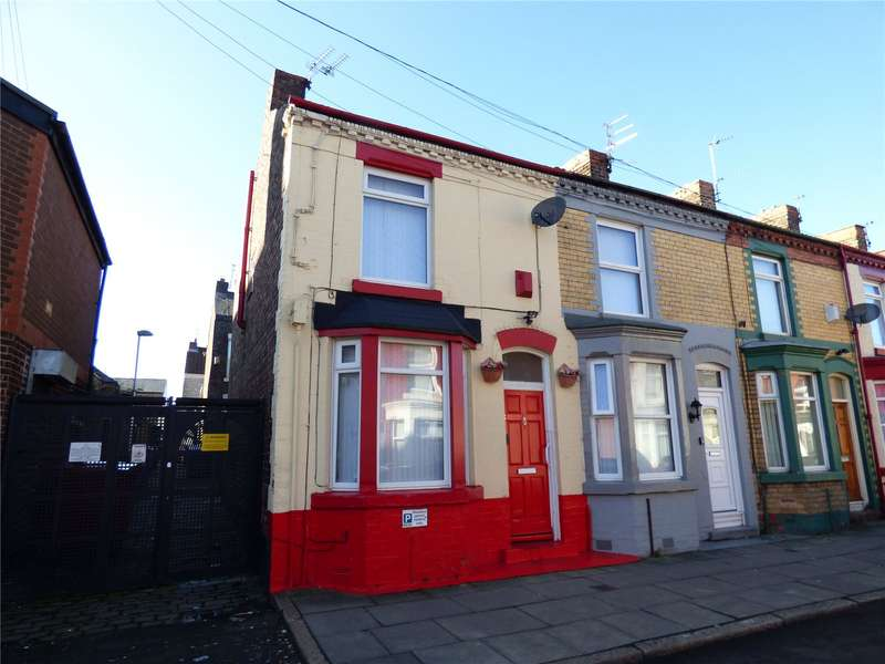 2 Bedrooms End Of Terrace House for sale in Parton Street, Liverpool, Merseyside, L6