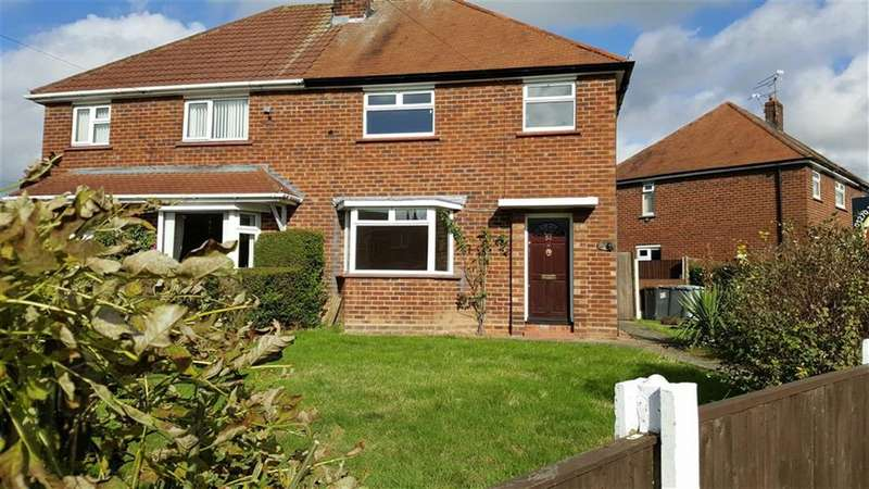 3 Bedrooms Semi Detached House for rent in Barthomley Crescent, Crewe, Cheshire