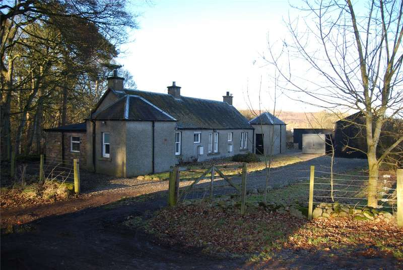 3 Bedrooms Detached House for sale in Broughty Cottages, The Balloch, Alyth, Blairgowrie, Perth and Kinross, PH11