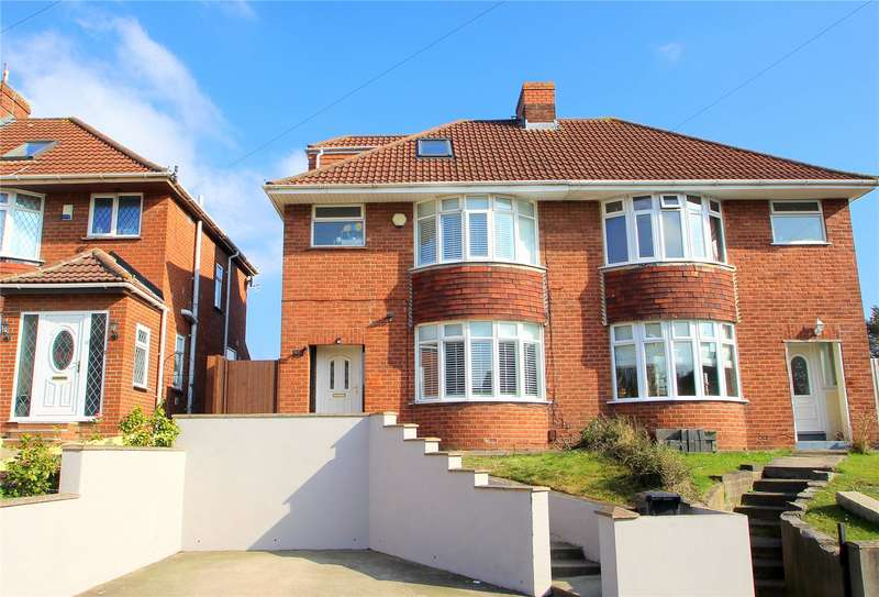 4 Bedrooms Semi Detached House for sale in Queens Road Bishopsworth Bristol BS13
