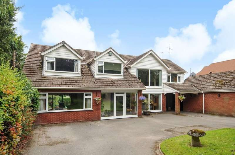 5 Bedrooms Detached House for sale in Old Station Road, Hampton-in-arden, Solihull