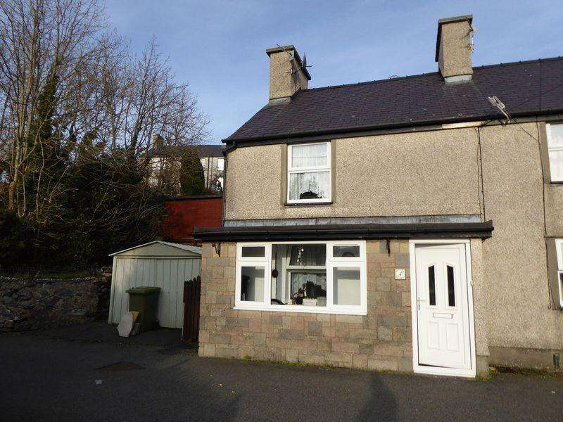 2 Bedrooms End Of Terrace House for sale in Gerlan
