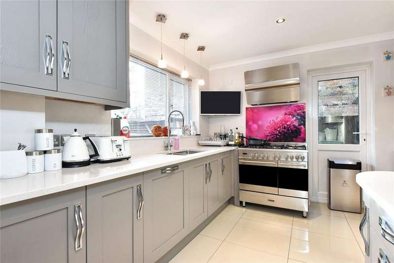 4 Bedrooms Semi Detached House for sale in Bailey Close, Windsor, Berkshire, SL4