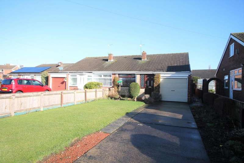 2 Bedrooms Semi Detached Bungalow for sale in Kennedy Grove, Norton, Stockton-On-Tees