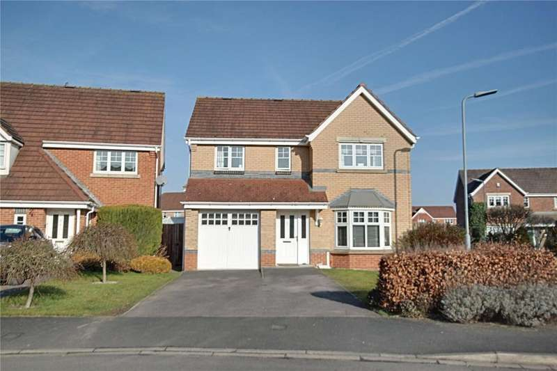 4 Bedrooms Detached House for sale in Grassholme Way, Eaglescliffe