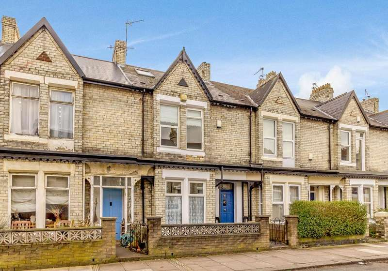 3 Bedrooms Terraced House for sale in Falmouth Road, Heaton, Newcastle Upon Tyne, Tyne Wear