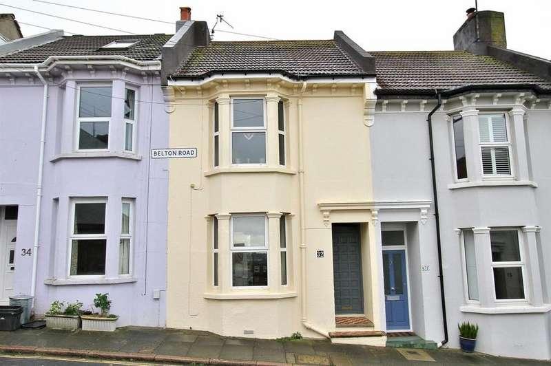 2 Bedrooms Terraced House for sale in Belton Road