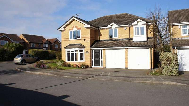 5 Bedrooms Detached House for sale in Bulrush Close, Mountsorrel