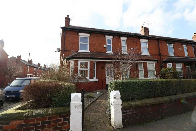 3 Bedrooms End Of Terrace House for sale in Ivygreen Road, Chorlton Green, Manchester, M21
