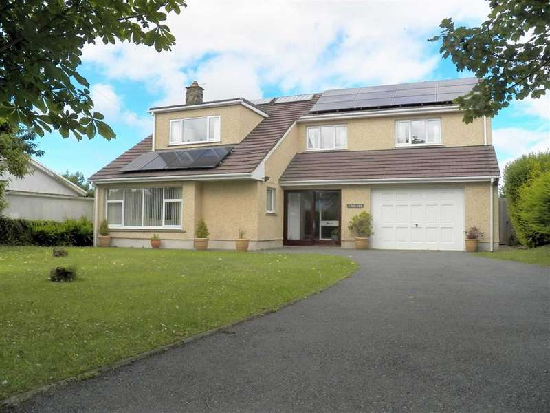 4 Bedrooms Detached House for sale in Park View, Tiers Cross, Haverfordwest