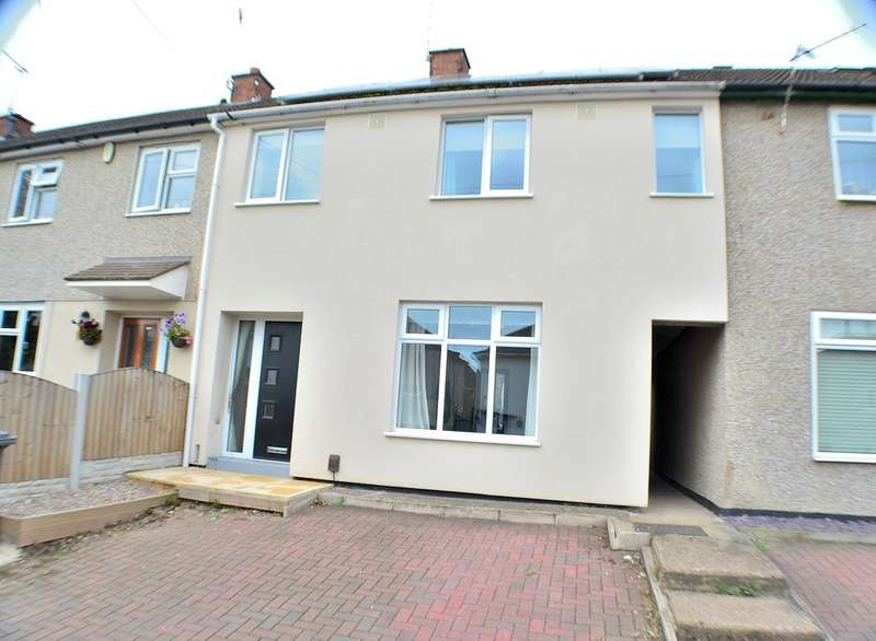 4 Bedrooms Terraced House for sale in Westbourne Park , Derby DE22