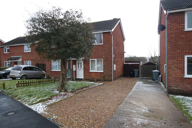 2 Bedrooms Semi Detached House for sale in Grantham, Chelmsford Drive NG31