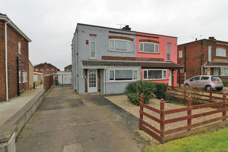 2 Bedrooms Semi Detached House for sale in Moorwell Road, Scunthorpe DN17