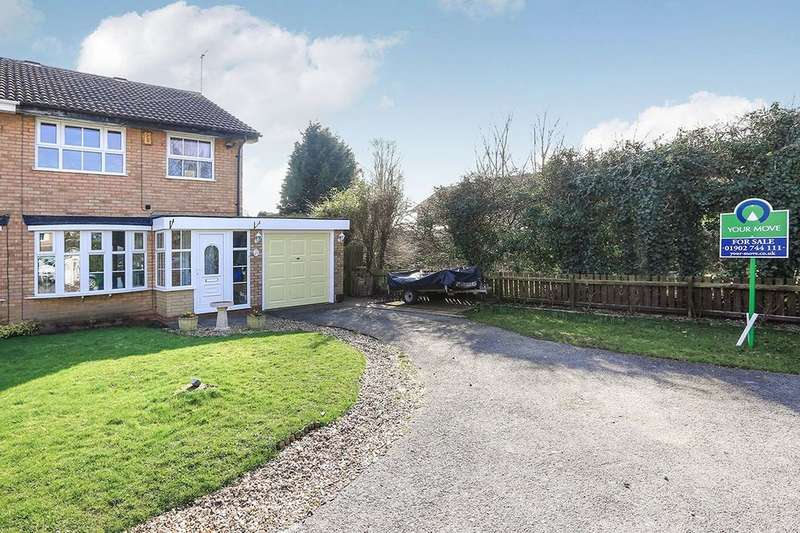 3 Bedrooms Semi Detached House for sale in Ayrton Close, Wolverhampton, WV6