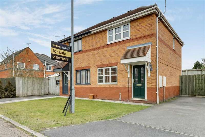 3 Bedrooms Semi Detached House for sale in Chaucer Grove, Ettiley Heath, Sandbach