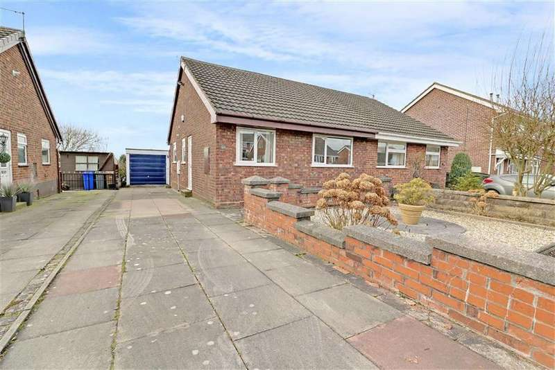 2 Bedrooms Semi Detached Bungalow for sale in Liskeard Close, Eaton Park, Stoke-on-Trent