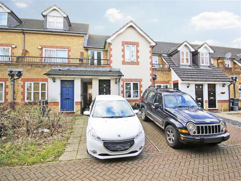 2 Bedrooms Terraced House for sale in Amblecote Meadows, London, SE12 9TA