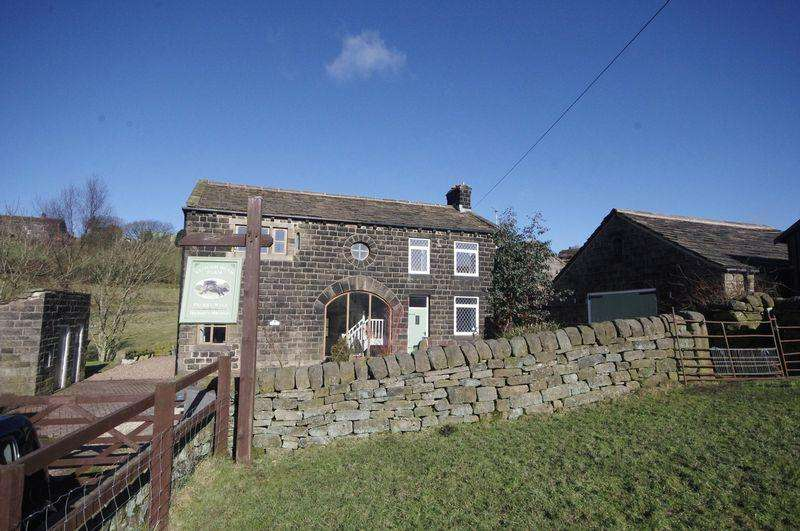 4 Bedrooms Detached House for sale in Clough Head Farm, Pecket Well, Hebden Bridge, HX7 8QU