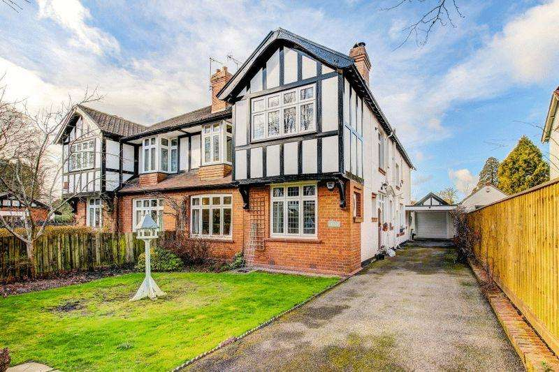 4 Bedrooms Semi Detached House for sale in The Avenue, Sneyd Park