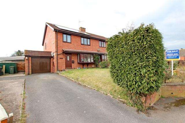 4 Bedrooms Semi Detached House for sale in Nethermoor Road, Middlezoy, Bridgwater