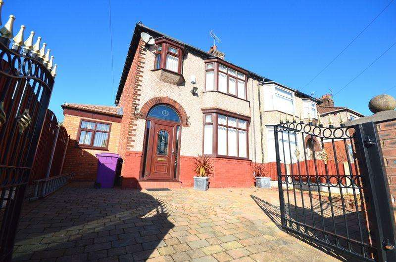 3 Bedrooms Semi Detached House for sale in Kirkmore Road, Mossley Hill