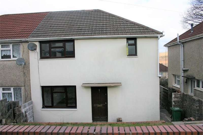3 Bedrooms Semi Detached House for sale in 306 Garth Avenue, Glyncoch, Pontypridd, Rhondda, Cynon, Taff, CF37 3AF