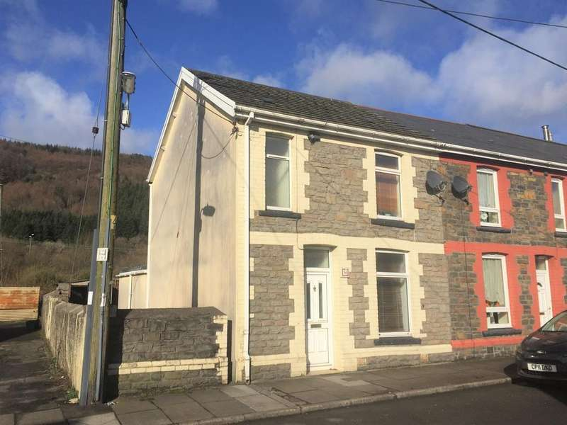 3 Bedrooms End Of Terrace House for sale in John Street, Resolven