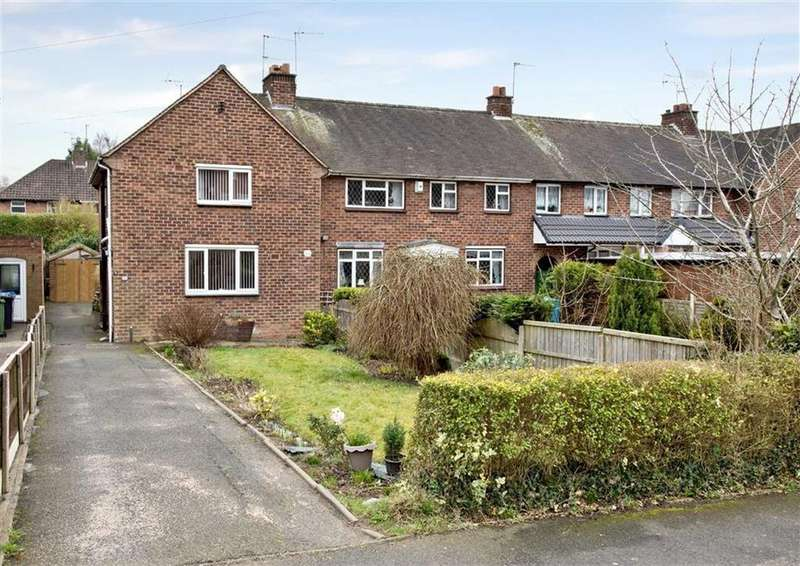 2 Bedrooms End Of Terrace House for sale in 8, Billy Buns Lane, Wombourne, Wolverhampton, South Staffordshire, WV5