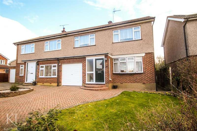 3 Bedrooms Semi Detached House for sale in Heath Drive, Ware