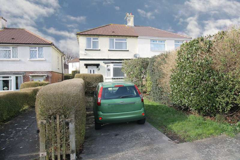 3 Bedrooms Semi Detached House for sale in Beacon Park Road, Plymouth, PL2 2PH