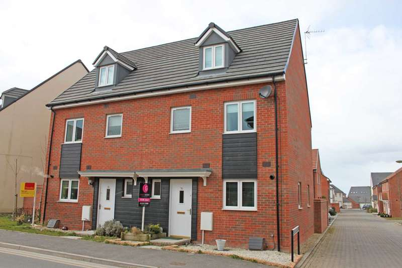 4 Bedrooms Semi Detached House for sale in Sir Frank Williams Avenue, Didcot
