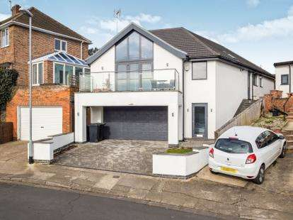 4 Bedrooms Detached House for sale in Redland Drive, Chilwell, Nottingham, .