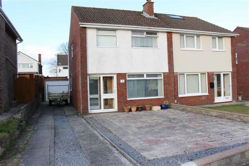 3 Bedrooms Semi Detached House for sale in Llys Y Brenin, Gorseinon