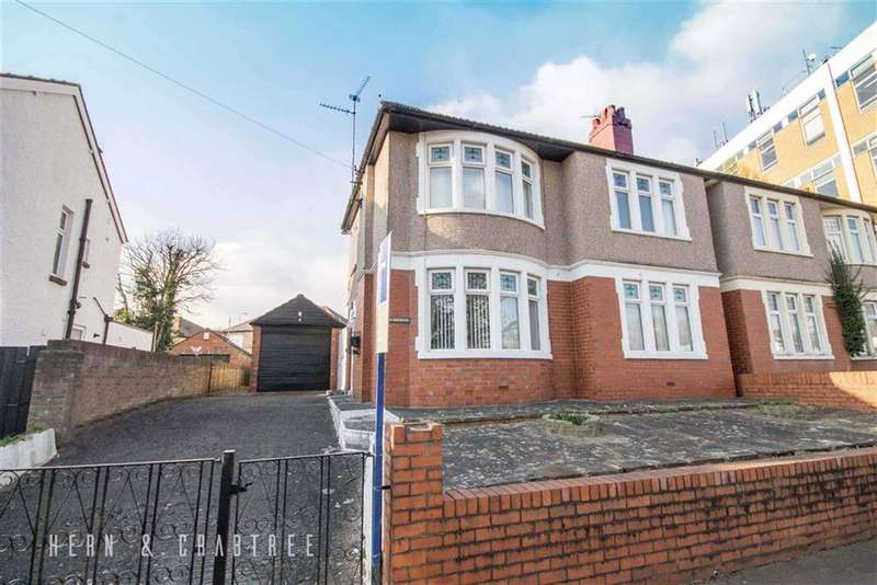 3 Bedrooms Semi Detached House for sale in Ely Road, Llandaff, Cardiff