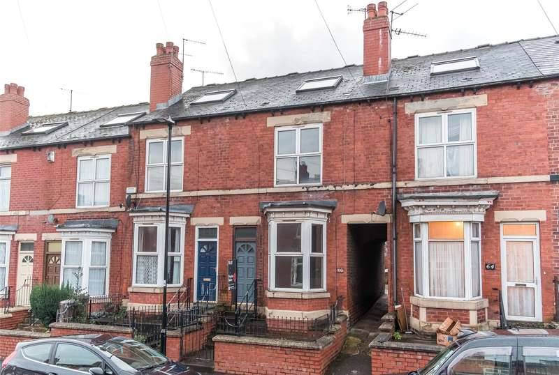 3 Bedrooms Terraced House for rent in Vincent Road, Sheffield, South Yorkshire, S7