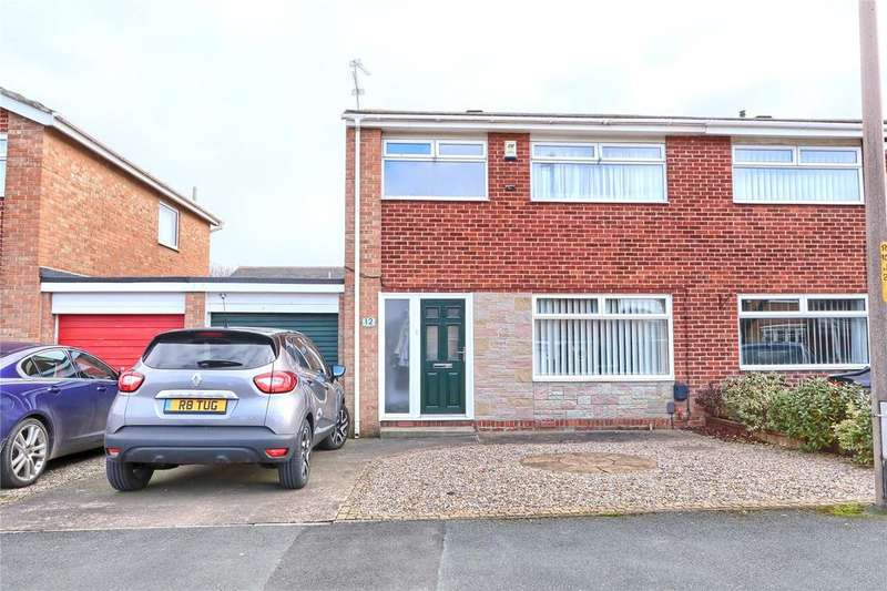 3 Bedrooms Semi Detached House for sale in Lambourne Drive, Marton