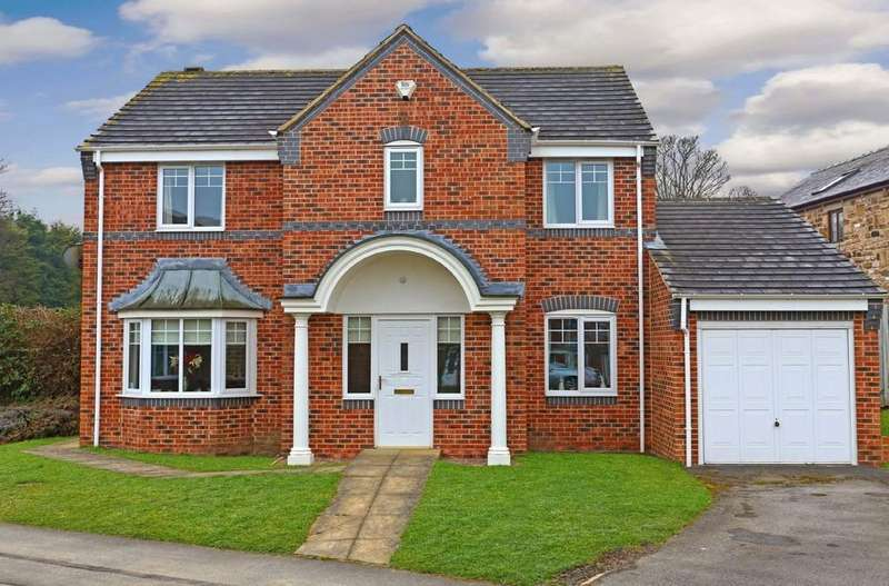 4 Bedrooms Detached House for sale in The Links, Crigglestone