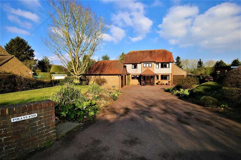 4 Bedrooms Detached House for sale in Heath Road, East Farleigh, Maidstone