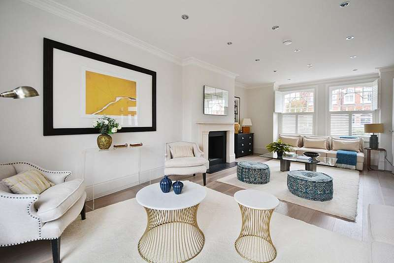 5 Bedrooms End Of Terrace House for sale in Cranbury Road, London, SW6