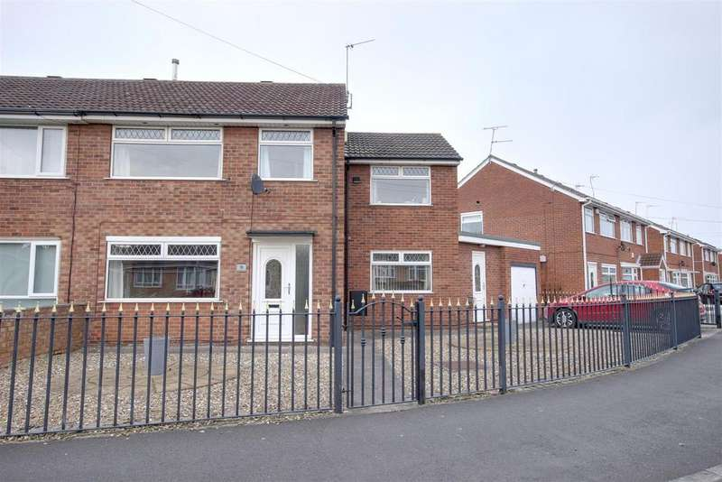 4 Bedrooms Semi Detached House for sale in Hawkshead Green, Hull
