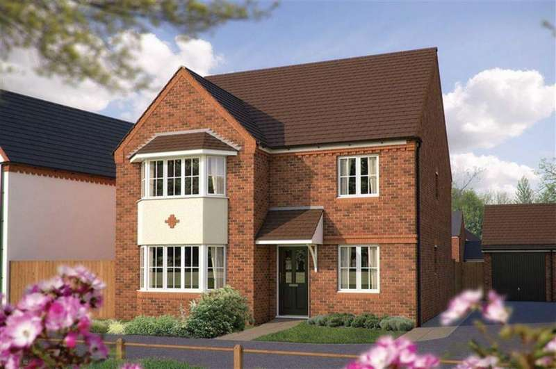 5 Bedrooms Detached House for sale in Oxford, Plot 413, Bowbrook Meadows, Off Mytton Oak Road, Squinter Pip Way, Shrewsbury SY3 5JD