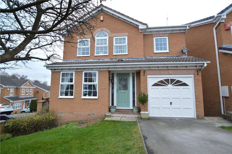 4 Bedrooms Detached House for sale in Buckthorne Fold, East Ardsley, Wakefield