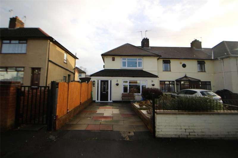 2 Bedrooms End Of Terrace House for sale in Hulton Avenue, Whiston, Prescot, Merseyside, L35