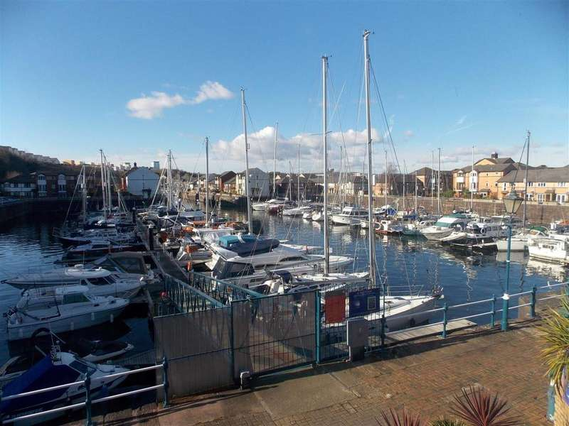 1 Bedroom Terraced House for sale in Custom House Place, Penarth Marina