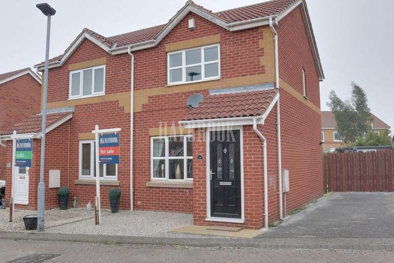 2 Bedrooms Semi Detached House for sale in Storrs Wood View, Cudworth