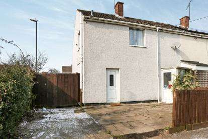 2 Bedrooms End Of Terrace House for sale in Lynmouth Road, Coventry, West Midlands